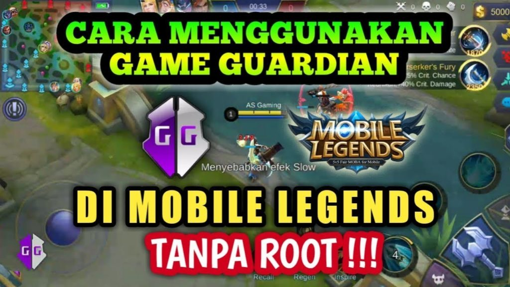 Cara Cheat Mobile Legends