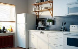 Kitchen set simpel dan manis